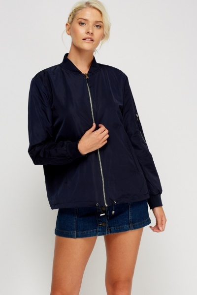Light Weight Classic Bomber Jacket