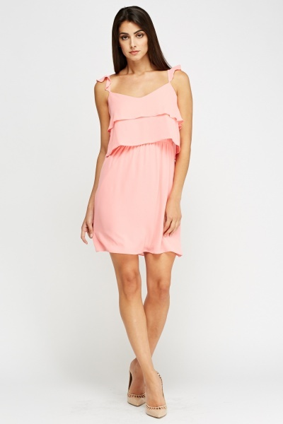 Frilled Swing Dress