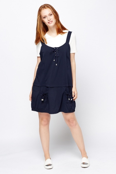 Sleeveless Button Front Dress