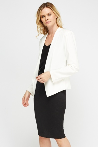 Casual Fitted Blazer