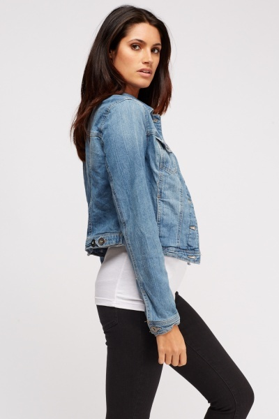 Button Up Denim Jacket