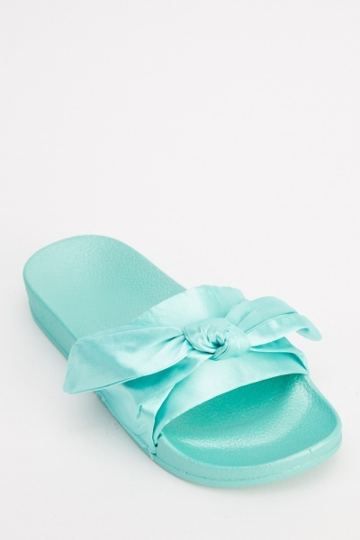 Sateen Knot Sliders