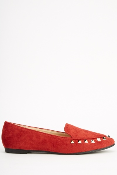 Sergio Todzi Suedette Studded Court Pumps