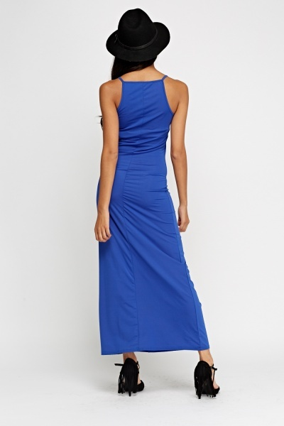 Slip On Basic Maxi Dress