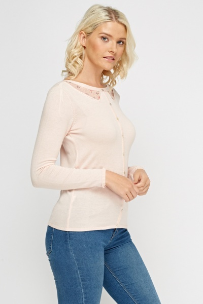 Knitted Button Detailed Sweater