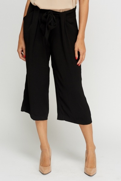 Tie Up Flare Culottes