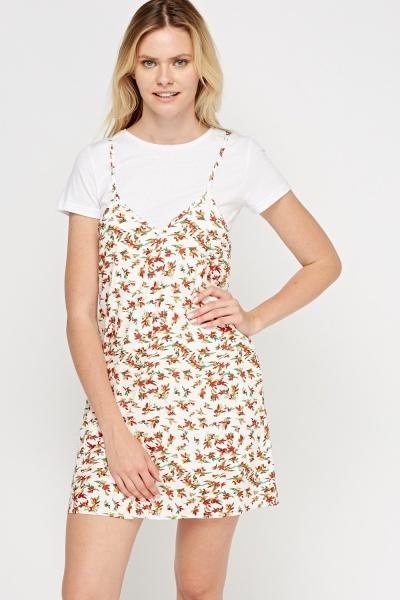 Image of 2 In 1 Slip On Dress