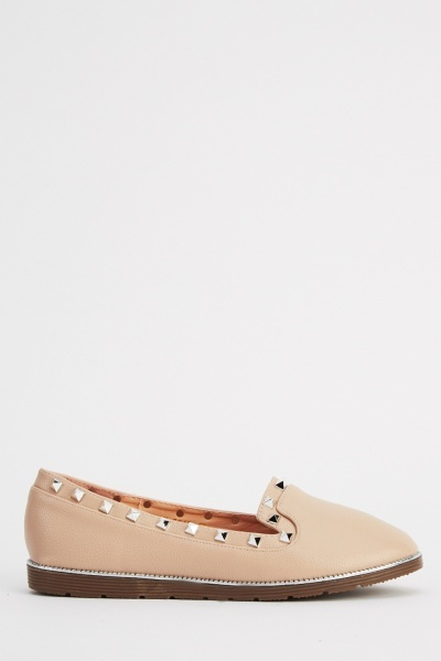 Studded Trim Shoes