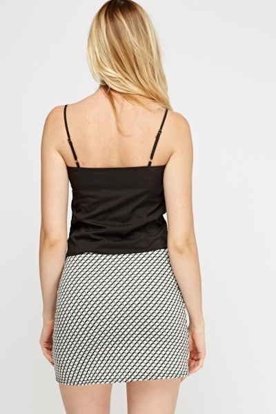 Ruched Front Cami Top