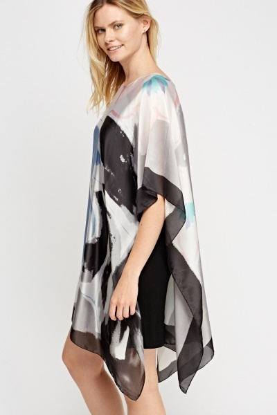 Silky Printed Cover Up