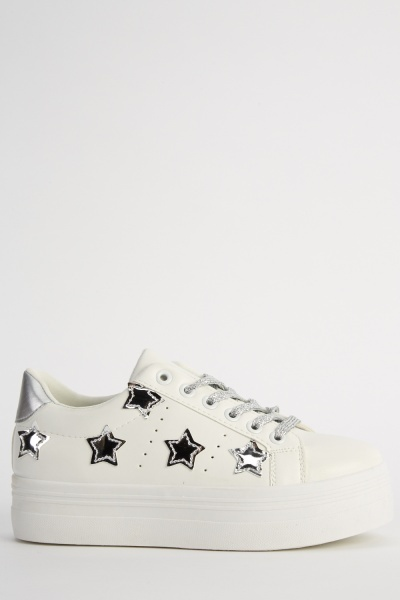 Flatform Star Detailed Trainers