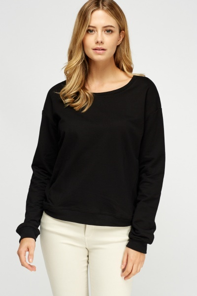 Basic Cotton Pullover