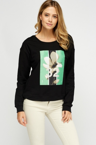 Printed Front Jumper