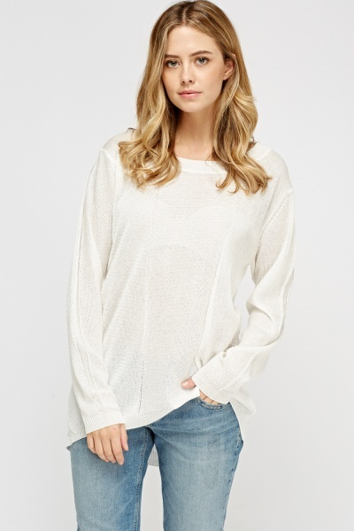 Loose Knit Thin Sweater