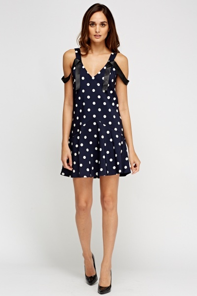 Polka Dot Swing Dress