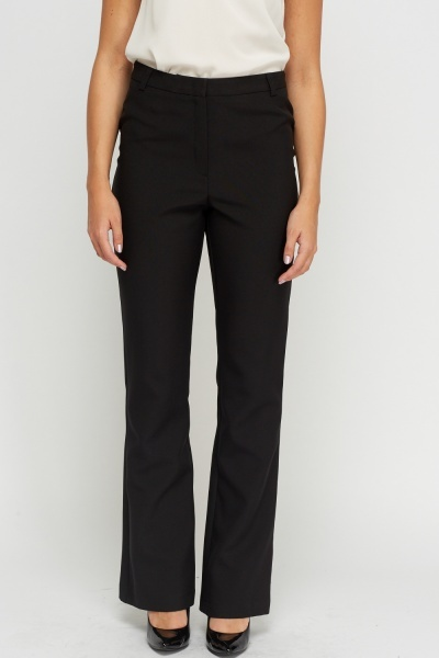 High Waisted Formal Trousers