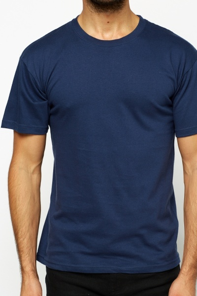 Pack Of 3 Round Neck T-Shirt