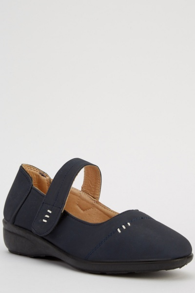 Casual Ankle Strap Shoes
