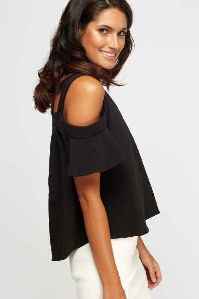 Cold Shoulder Basic Top
