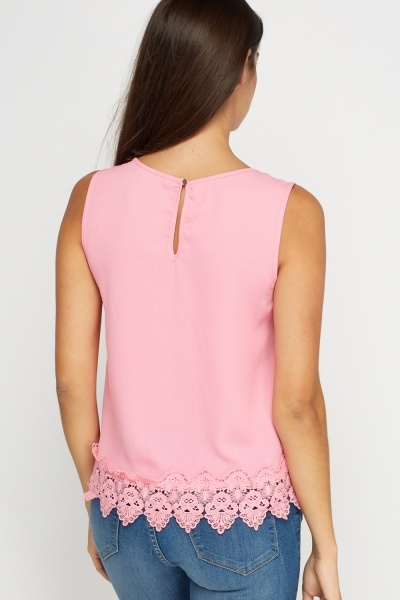 Embellished Ballet Shoe Contrast Top