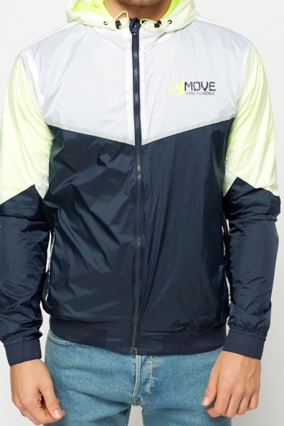 Navy Sports Light Weight Jacket