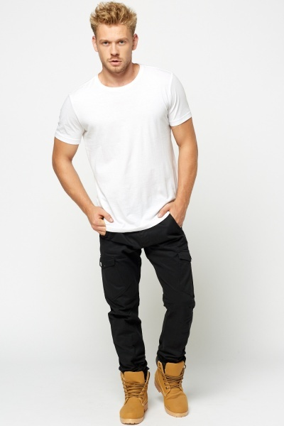 Slim Cargo Mens Trousers