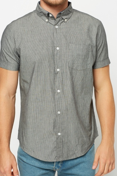 Pinstripe Mens Shirt