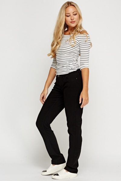 Black Casual Jeans