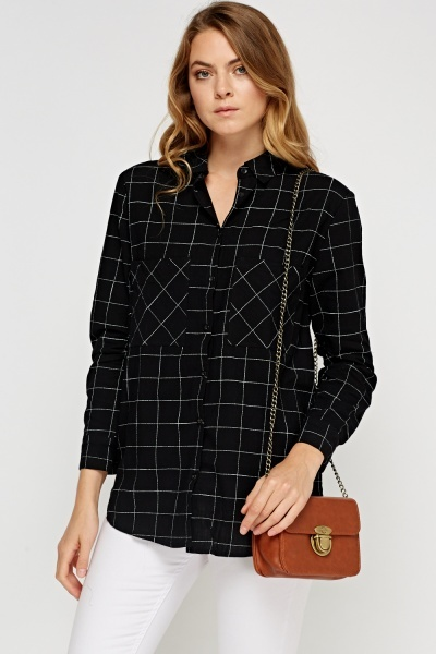 Cotton Checked Shirt