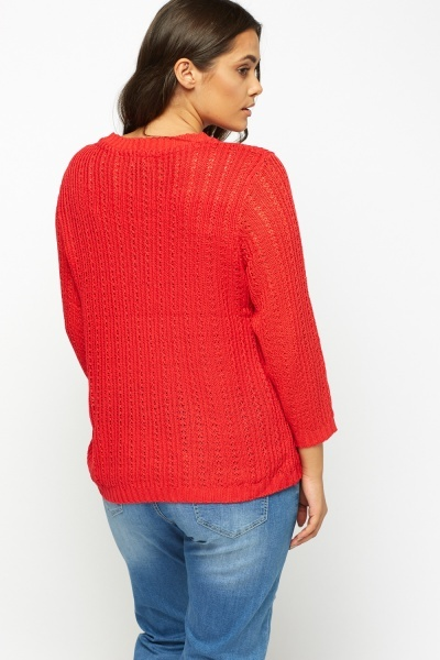 Cable Knit Jumper