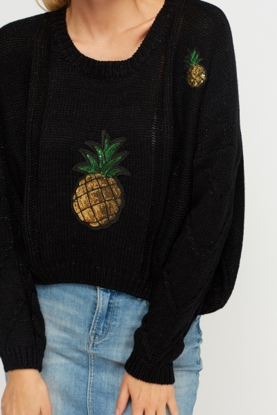 Sequin Pineapple Jumper