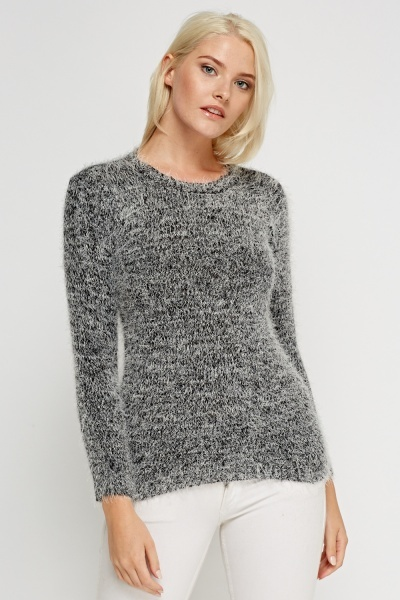 Eyelash Speckle Jumper
