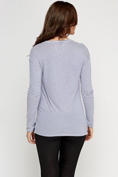 Stripe Casual Top