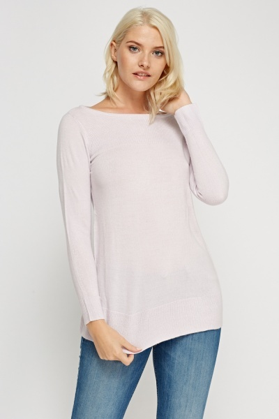 Thin Knitted Pullover