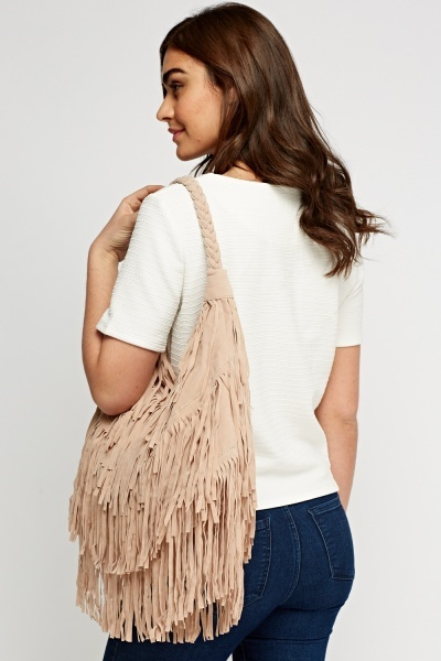 Fringed Round Casual Handbag
