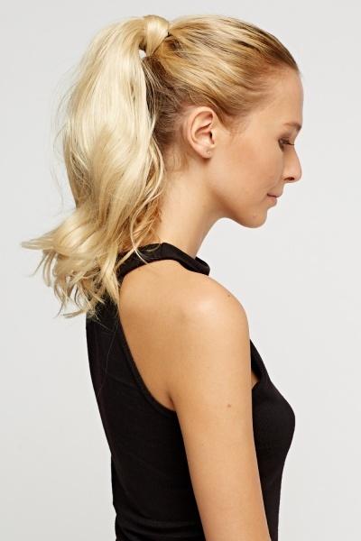 Brilliant Blonde 16'' Super Maxi Faux Hair Ponytail