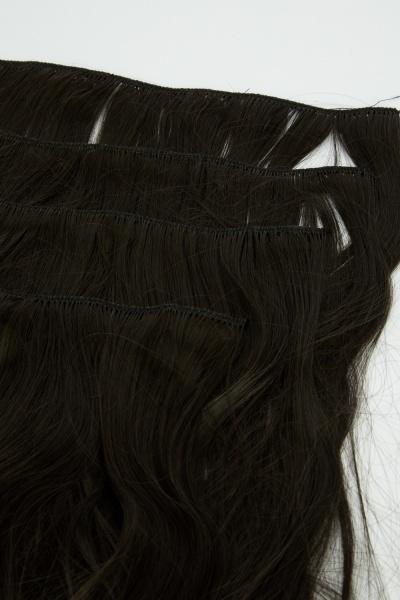 Brilliant Blonde 18'' Half Head Extra Full Faux Hair