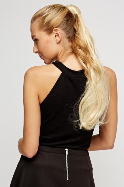 Brilliant Blonde 20'' Super Maxi Faux Hair Ponytail