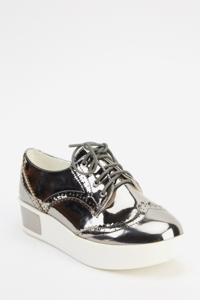 Flatform Brogue Shoes