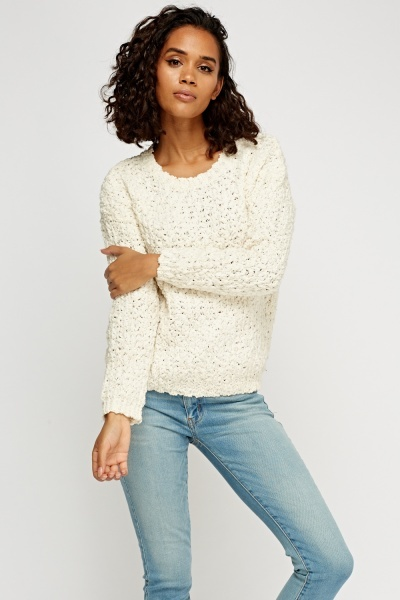 Bobble Knit Jumper