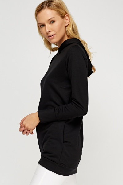 Longline Hooded Jumper