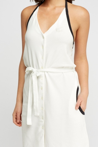 Lacoste Halterneck Dress