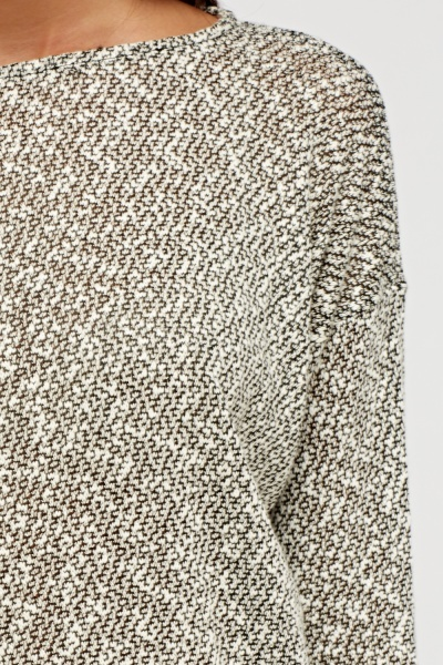 Speckled Batwing Jumper