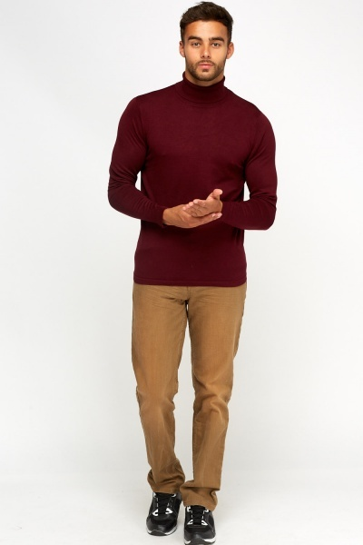 Turtle Neck Casual Jumper