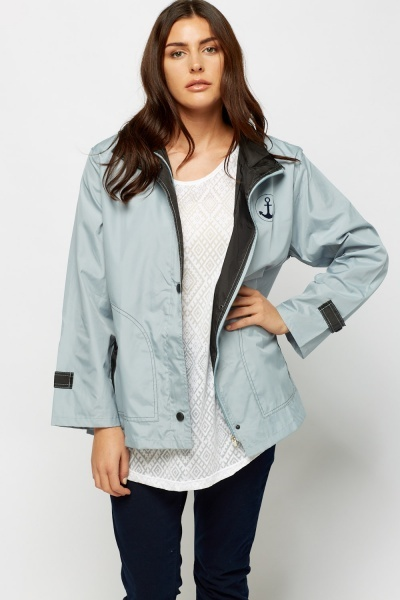 High Neck Waterproof Jacket