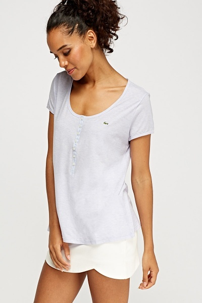 Lacoste Cotton Blend T-Shirt