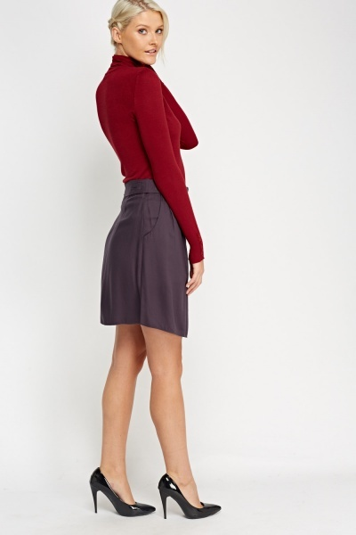 Tie Up Casual Skirt