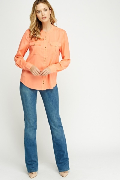 Juicy Couture Button Up Blouse