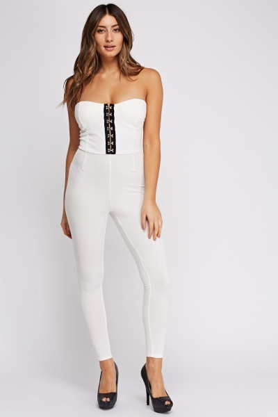 Bandeau Fitted Jumpsuit