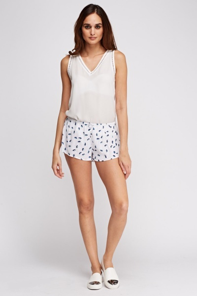Juicy Couture Floral Pyjama Shorts